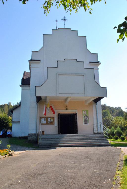 Kościół rzymsko-katolicki w Bóbrce k. Soliny