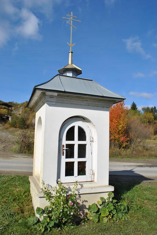 Kapliczka pańszczyźniana w Bóbrce k. Soliny